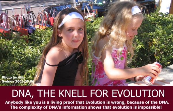 DNA the knell for evolution (1)