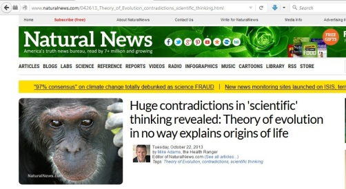 Huge contradictions in scientific thinking_Evolution