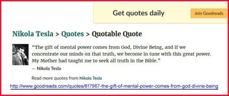 Tesla's quotes