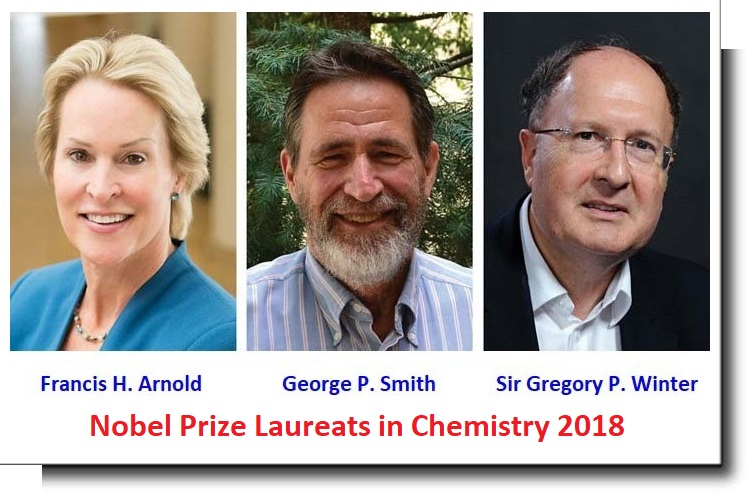 Nobel Prize Laureats in Chemistry 2018
